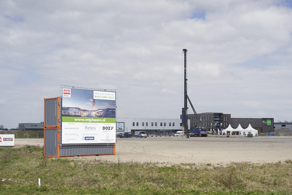 Heimachine op MTP terrein Zevenhuis Hoorn